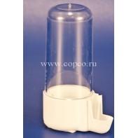 I.P.T.S. 015641 Поилка д/птиц евро-клик мини пластиковая белая 4*9см