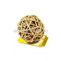 I.P.T.S. 825700 Игрушка д/грызунов  Мячик из плетёной соломы  8см