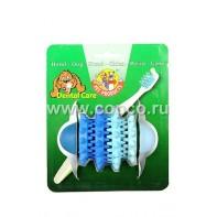**I.P.T.S. 625409 Игрушка д/собак шипованная д/ухода за зубами, резина 11см