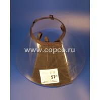 Талисмед Воротник пластиковый защитный на липучке №15, обхват шеи 35-41см