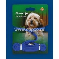 **I.P.T.S. 745037 Ринговка д/собак нейлоновая голубая 120см*5мм