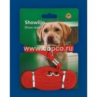 **I.P.T.S. 745038 Ринговка д/собак нейлоновая красная 120см*10мм