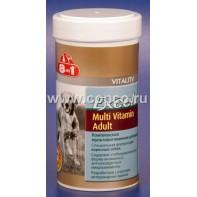 8 в 1 108665 Excel Multi Vitamin Adult Комплексная мультивитаминная добавка д/собак 70таб