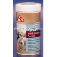 8 в 1 108696 Excel Multi Vitamin Senior Комплексная мультивитаминная добавка д/пожилых собак 70таб