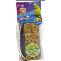 JR FARM 08463 Палочки д/волнистых попугаев с Медом и раковинами устриц 2шт