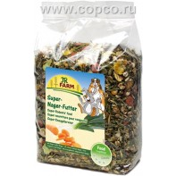 JR FARM 04193 Premium Супер корм д/грызунов 1кг
