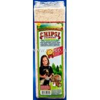 Chipsi Strawberry АКЦИЯ Наполнитель древесный ароматизированный для грызунов 15л*1кг