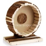I.P.T.S. 810852 Колесо д/хомяка на подставке деревянное 20см
