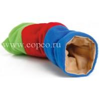 I.P.T.S. 811070 Туннель д/грызунов плюшевый цветной 25см