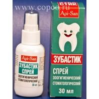 Аписан Зубастик спрей зоогигиенический стоматологический 30мл