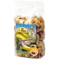 JR FARM 01650 Лакомство д/грызунов кусочки Банана 150г
