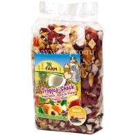 JR FARM 02204 Лакомство д/грызунов Тропические фрукты 200г