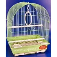 Золотая клетка 100 Клетка для птиц, эмаль 30*23*39см