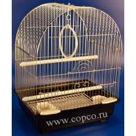 Золотая клетка 100G Клетка для птиц, золото 30*23*39см