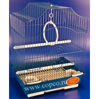 Золотая клетка 112 Клетка для птиц, эмаль 30*23*39см