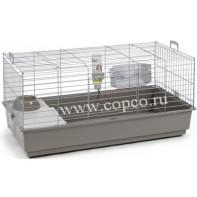 **I.P.T.S. 266884 Deluxe Клетка д/кролика серебристо-серая 100*50*47см