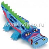 Beeztees 440560 Игрушка д/кошек  Крокодильчик  текстиль 13,5см