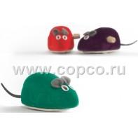 Beeztees 440377 Игрушка д/кошек  Мышь заводная