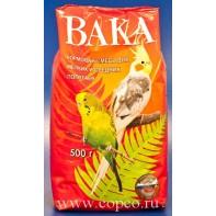Вака Корм д/мелких и средних попугаев 500г