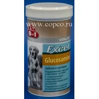 8 в 1 121596 Excel Glucosamine добавка д/собак для гибкости суставов с глюкозамином 110таб