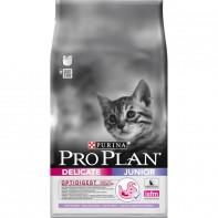 PRO PLAN Junior Delicate для котят с чувствительным пищеварением Индейка 3кг