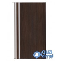 Дверцы (1шт) навесные для 60 Алю-Декор цвет Венге