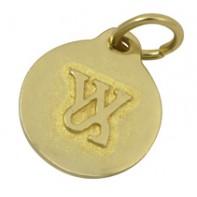 Латунный жетон для клички Waifs & Strays