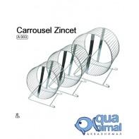 Колесо для грызунов мет. D=120 хром INTER-ZOO