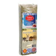 Родные корма Сено с шиповником 20 л