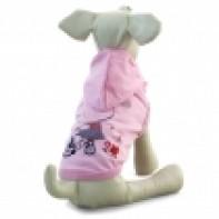 """TR104L Футболка с капюшоном """"Лето"""", розовая, размер 35см"""