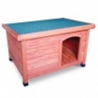 DHW1018M Будка деревянная для собак, 1037*660*770мм
