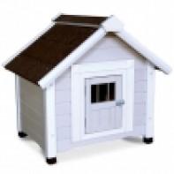 DHW1047M Будка деревянная для собак, 810*650*760мм ###